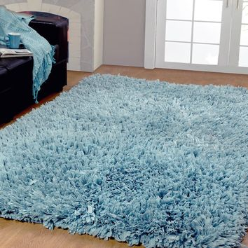 Affinity Home Collection Cozy Shag Area Rug (3' x 5') | Overstock.com Shopping - The Best Deals on 3x5 - 4x6 Rugs