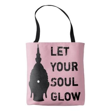 Let your soul glow Buddha Bag
