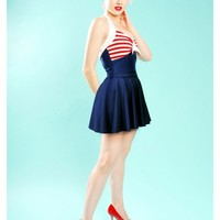 "Bettie ""Hello Sailor"" Swimsuit"