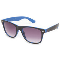 Blue Crown Big Dreamin Classic Sunglasses Black/Blue One Size For Men 23133318401
