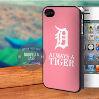 Detroit Tigers Logo Pink case for iPhone 5,5s,5c,4,4s,6,6+,iPod 4th 5th,Samsung Galaxy S3,S4,S5,Note 2,3,HTC One,LG Nexus