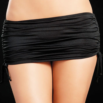 Black  Micro Mini Skirt