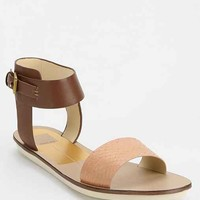 Dolce Vita Naria Ankle-Wrap Sandal- Brown