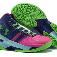 Men's Under Armour Stephen Curry 2 Northern Lights Basketball Shoes