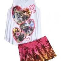Animal Seflie Pajama Set | Girls {category} {parent_category} | Shop Justice