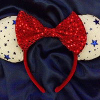 Stars n' Sequins Mouse Ears Headband