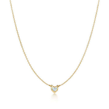 Tiffany & Co. - Elsa Peretti®:Diamonds by the Yard®Heart Necklace