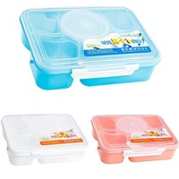 Microwave Bento Lunch Container 5 and 1 Portable Food Container Storage Box Bento Box Food Container