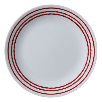 Corelle® Livingware™ Ruby Red Plate (Select Plate Size)