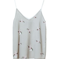 PRINTED CAMISOLE - Shirts - Woman - New collection | ZARA United States