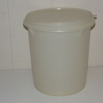 Vintage Tupperware 20 cup 5 Quart Container With Lid