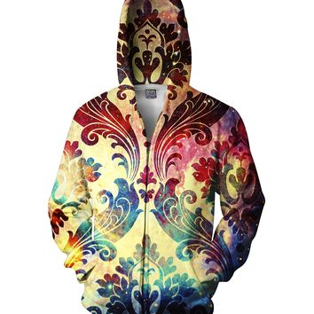 Batik Galaxy Zip-Up Hoodie