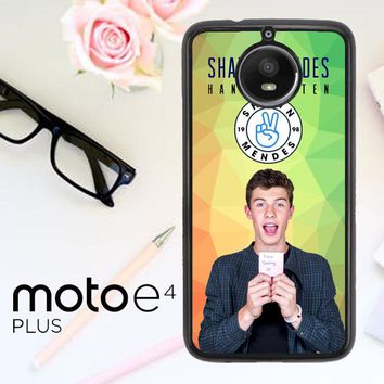 Shawn Mendes R0203 Motorola Moto E4 Plus Case