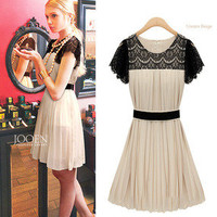 shopping2013 — Chiffon dress summer lace dress