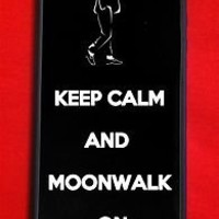 keep calm and moonwalk michael jackson iphone 4/4s Case