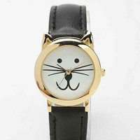 Meow O'Clock Watch- Black One
