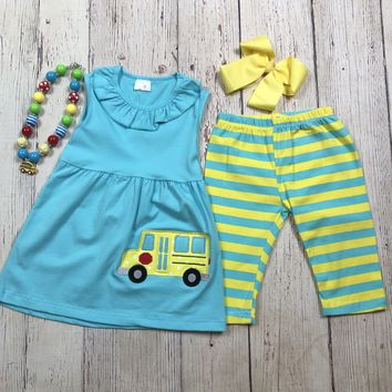 RTS- Blue & Yellow School Bus 2pc  D-26