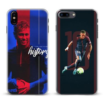 Neymar JR PSG Coque Fashion Cool For Apple iPhone X 8Plus 8 7Plu 4d95b8f00