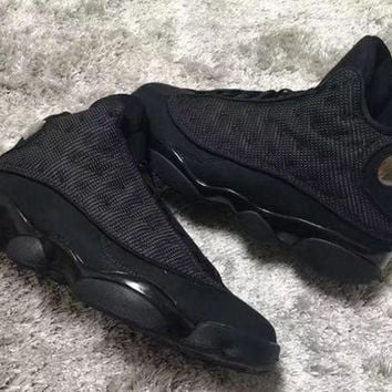 Air Jordan Retro 13 Black Cat Men Women Basketball Shoes Retro 13s Sports Sneaker Athletics Shoes Size 36-47 - Beauty Ticks