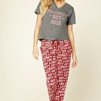 Naughty But Nice PJ Set
