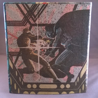 Decoupage comic book tissue box cover Star Wars