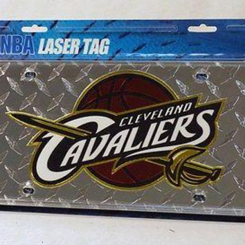 Cleveland Cavaliers NBA Laser Cut Diamond Plate License
