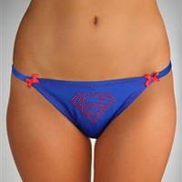 Supergirl Lace Back Panties