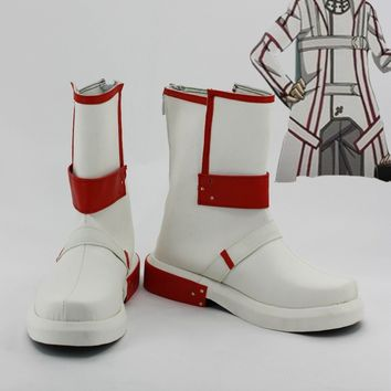 Sword Art Online KIRITO Kirigaya Kazuto Blood Raiders Cosplay Shoes Boots