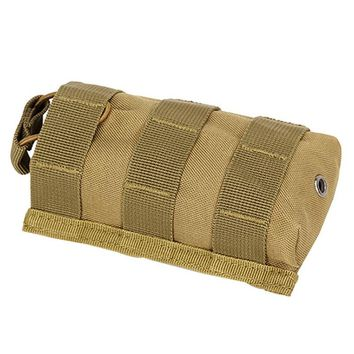 New Arrivals Outdoor Military Tactical Airsoft Paintball Hunting Radio Walkie Talkie Pouches Sports Water Bottle Canteen Bag