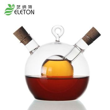 DCCKL72 ELETON High temperature glass caster oil spray Oil vinegar bottle of soy sauce vinegar oil bottle kitchen supplies Cooking