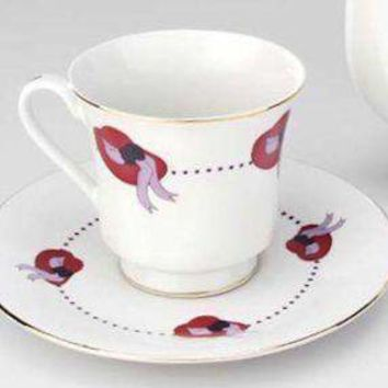 Red Hat Bulk Discount Teacups (Tea Cups) and Saucers - Case of 48 FREE SHIPPING!