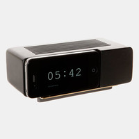 Retro iPhone Alarm Dock - Black