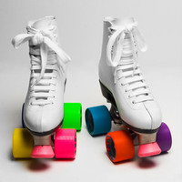Classic White Roller Skates | Shop Novelties Now | fredflare.com