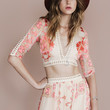 Barcelona Crop Top By For Love & Lemons