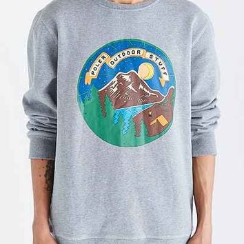 Poler Camp Time Crew Neck Sweatshirt - Urban Outfitters