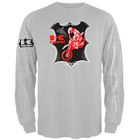 Kawasaki - Red Dirt Bike Long Sleeve