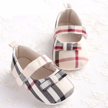 Burberry Inspired Girls Mary Jane