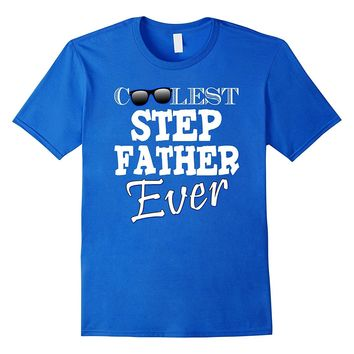 Mens Step father gifts from daughter son fathers day tee shirt