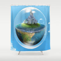Bubble palace Shower Curtain by Store2u
