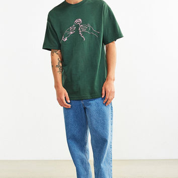Division Of Labor Rose Tee | Urban Outfitters