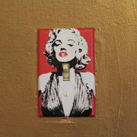 Marilyn Monroe Light Switch Cover Plate