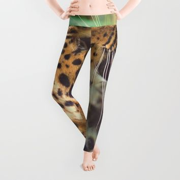 Leopard Leggings by Mixed Imagery
