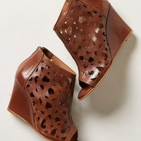 Charm-Cut Wedges by Anthropologie