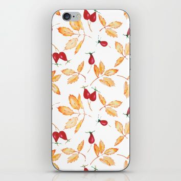Floral watercolor iPhone & iPod Skin by Angelina May