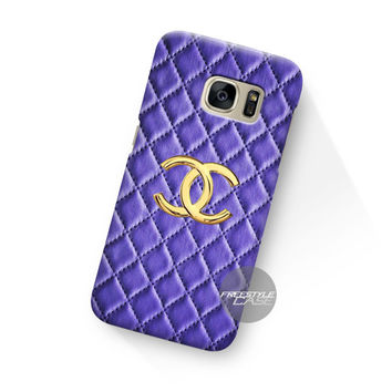 Art Work Chanel Hulle Blue Samsung Galaxy Case Cover Series