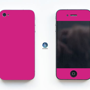 So Pink iPhone Skin