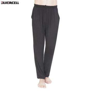 New Brand Men Pants Clothing Casual Trousers Lounge Loose Pantaloons Trunks Homewear