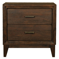 Ashton Nightstand Rustic Java
