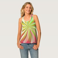 Racerback Tank Top - Abstract