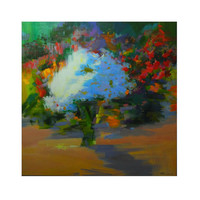 Spring garden giclee art print from original oil painting by Yuri Pysar - ready for hanging art